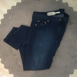 High-Rise Free People skinny jeans